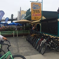 Photo taken at Sea Mist Skate & Bike Rentals by Candy R. on 7/16/2014
