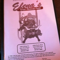 Photo taken at Elena's Mexican Restaurant by Candy R. on 4/12/2013