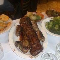 Photo taken at Sammy's Roumanian Steakhouse by Simon K. on 3/23/2013