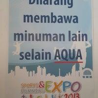 Photo taken at The Jakarta Marathon 2013 by William A. on 10/25/2013