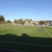 Photo taken at Buck Shaw Stadium by Darren Z. on 7/14/2013