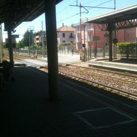 Photo taken at Stazione Portichetto Luisago by Martino M. on 6/11/2013