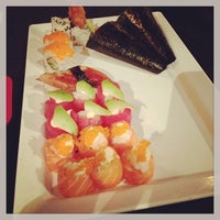 Photo taken at Ask de Chef - Fusion | Sushi | Lounge by Sophie B. on 1/11/2013