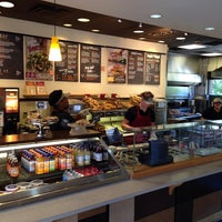 Photo taken at Bruegger's by Jed R. on 7/28/2014