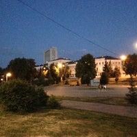Photo taken at Парк «Чёрное озеро» by Sagit K. on 7/5/2013