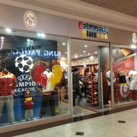 Photo taken at Galatasaray Store by Metin K. on 2/18/2013