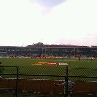 Photo taken at Lal Bahadur Shastri Stadium by Nikhil G. on 2/16/2013