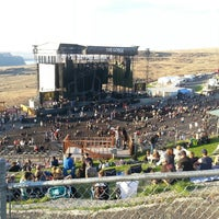 Photo taken at The Gorge Amphitheatre by Sheltox S. on 8/26/2013