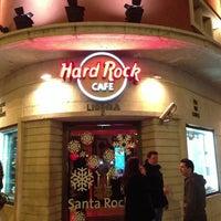 Photo taken at Hard Rock Cafe Lisbon by Carlos R. on 1/6/2013