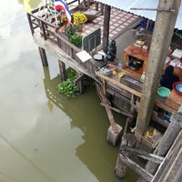 Photo taken at Klong Suan 100-Year-Old Market by Pukky N. on 1/15/2013