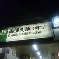 Photo taken at Okachimachi Station by 黒井 日. on 12/27/2012