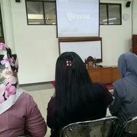 Photo taken at Fakultas Hukum by Nabilla C. on 9/13/2016