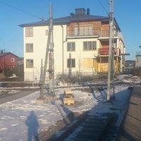 Photo taken at Saltsjöbaden (L) by Julia S. on 3/16/2013