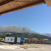 Photo taken at Area di Servizio Monte Velino Sud by Emanuele D. on 8/12/2014