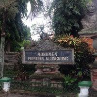 Photo taken at Monumen Puputan Klungkung by Liftildapeak W. on 7/13/2014