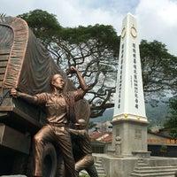 Photo taken at WW2 Anti Japanese Monument (檳榔嶼華僑抗戰紀念碑) by Liftildapeak W. on 4/15/2016