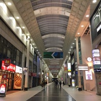 Photo taken at 上通アーケード by Liftildapeak W. on 12/31/2017