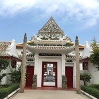 Photo taken at Wat Ratcha Orasaram by Liftildapeak W. on 4/2/2017