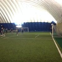 Photo taken at OZ Dome & Sports Centre by Masha K. on 10/21/2014