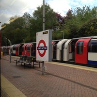 Photo taken at North Acton London Underground Station by Alex V. on 5/8/2013