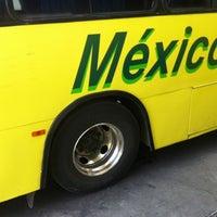 Photo taken at Autobús Mexico Texcoco Cines by Juan Antonio S. on 3/1/2013