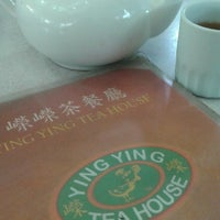 Photo taken at Ying Ying Tea House by Gene N. on 7/28/2014