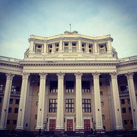 Photo taken at Центральный академический театр Российской армии by Shawien O. on 1/8/2013