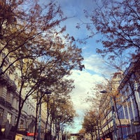 Photo taken at Mariahilfer Straße by Shawien O. on 10/12/2013
