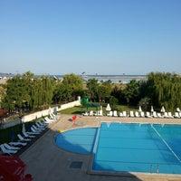 Photo taken at Grand Şile Otel by Ömer R. on 7/25/2013