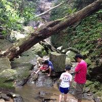 Photo taken at Broga Water Fall by Jiahui T. on 8/25/2013