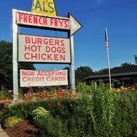 Photo taken at Al's French Frys by Jon T. on 7/21/2013