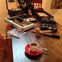 Photo taken at Odd's Cafe by Jeri B. on 5/10/2014