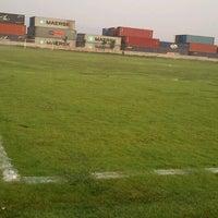 Photo taken at Campos de futbol Los Rositas by DiEwo C. on 5/4/2013