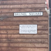 Photo taken at Brunel Square by Paul H. on 7/16/2017