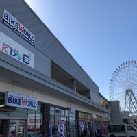 Photo taken at バイクワールド りんくうシークル店 by ややまる ち. on 2/14/2018