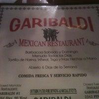 Photo taken at Garibaldi's Mexican Restaurant by Bryan C. on 1/12/2013