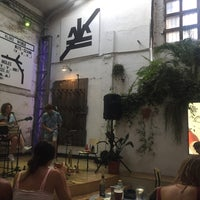 Photo taken at La Fábrica de Hielo by Kirsty P. on 7/23/2018