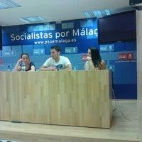 Foto tomada en PSOE de Málaga por Iván A. el 9/16/2012