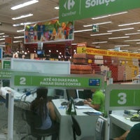Photo taken at Carrefour by Leandro F. on 1/13/2013