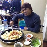 Photo taken at 금문 by tawan o. on 2/1/2014