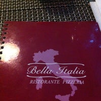 Photo taken at Bella Italia by Adeline D. on 1/18/2013