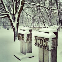 Photo taken at Cmentarz na Zaspie by wittamina on 1/11/2013