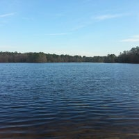 Photo taken at Trap Pond State Park by Bret H. on 12/15/2012