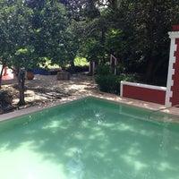 Photo taken at Hacienda Santa Rosa, a Luxury Collection Hotel, Santa Rosa by Cristina S. on 10/11/2013