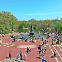 Photo taken at Bethesda Fountain by Sherwyn L. on 5/9/2013