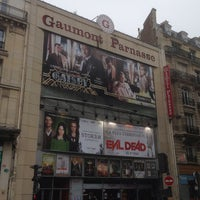 Photo taken at Gaumont Parnasse by Pascal K. on 5/1/2013