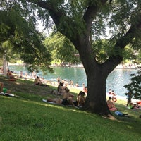Photo taken at Zilker Park by Emily E. on 9/7/2013