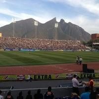 Photo taken at Estadio Tecnológico by Justin A. on 3/13/2013