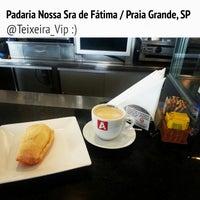 Photo taken at Padaria Nossa Senhora de Fátima by Teixeira V. on 4/22/2014