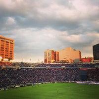 Photo taken at Estadio Azul by Guillermo M. on 3/31/2013
